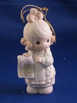 But The Greatest Of These Is Love - Dated Annual 1992 Precious Moment Ornament