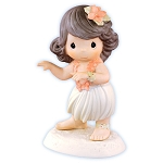 Happy Hula Days - Precious Moment Figurine