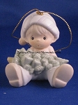 Don't Let The Holidays Get You Down - Precious Moment Ornament