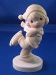 Dropping In For Christmas - Precious Moment Figurine