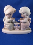 Friendship Hits The Spot - Precious Moment Figurine