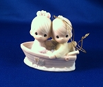 Friends Never Drift Apart - Precious Moment Ornament