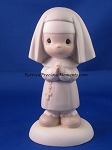 Get Into The Habit Of Prayer - Precious Moment Figurine