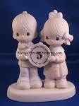 God Blessed Our Years Together With So Much Love And Happiness (5th) - Precious Moment Figurine