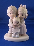 God Bless The Day We Found You (Girl) - Precious Moment Figurine