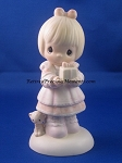 God Sends The Gift Of His Love - Precious Moment Figurine