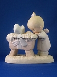 God Sent His Son - Precious Moment Figurine