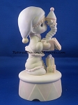 God Sent You Just In Time (Musical) - Precious Moment Figurine