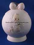 He Covers The Earth With His Beauty - 1995 Precious Moment Ball Ornament