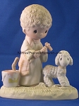 His Sheep Am I - Precious Moment Figurine