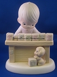 I Can't Spell Success Without You - Precious Moment Figurine