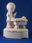 I'll Play My Drum For Him (Musical) - Precious Moment Figurine