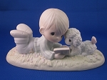 I Love To Tell The Story - Precious Moment Figurine