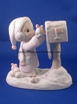 I'm Sending You A White Christmas - Precious Moment Figurine