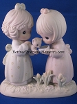 I'm So Glad That God Has Blessed Me With A Friend Like You - Precious Moment Figurine