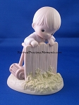 It May Be Greener But It's Just As Hard To Cut - Precious Moment Figurine