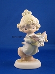 Lord, Help Me Stick To My Job - Precious Moment Figurine