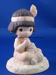 Lord Keep Me In Teepee Top Shape - Precious Moment Figurine
