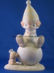 Lord Keep Me On The Ball - Precious Moment Figurine