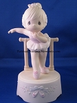 Lord, Keep My Life In Balance (Musical) - Precious Moment Figurine