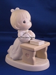 Lord Teach Us To Pray - Precious Moment Figurine