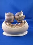 Many Moons In The Same Canoe, Blessum You - Precious Moment Figurine
