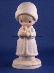 May Your Christmas Be Merry - Precious Moment Figurine