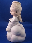 My Guardian Angel (Boy) - Precious Moment Figurine