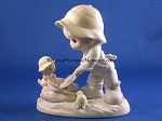 Nothing Can Dampen The Spirit Of Caring - Precious Moment Figurine