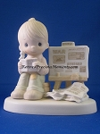 Peace Amid The Storm - Precious Moment Figurine