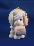 I'll Be Dog-ged It's That Season Again - Dated Annual 1998 Precious Moment Ornament