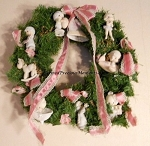 Precious Moments Retailer's Wreath with Ornaments