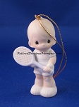 Serve With A Smile (Boy) - Precious Moment Ornament