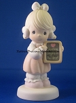 Sharing Begins In The Heart - Precious Moment Figurine