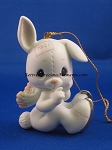 Sno-Bunny Falls For You Like I Do - Precious Moment Ornament