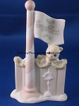 Flag Pole - Precious Moment Figurine