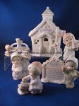 Schoolhouse Collector's Set - Precious Moment Figurines