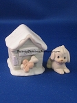 Sugar And Her Doghouse - Precious Moment Figurine