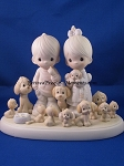 The Good Lord Has Blessed Us Tenfold - Precious Moment Figurine