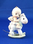 Baby's First Christmas 1987 (Boy) - Precious Moment Ornament