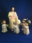 He Shall Lead The Children Into The 21St Century - Precious Moment Figurine