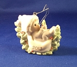 Baby's First Christmas 2013 (Boy) - Precious Moment Ornament