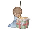 The Wonder Of Christmas  - Precious Moment Ornament