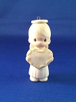God Sent His Love - Dated Annual 1985 Precious Moment Ornament