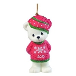 Beary Cozy Christmas -  Dated Annual 2016 Precious Moment Ornament