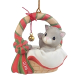 Meowie Christmas - Dated Annual 2016 Precious Moment Ornament