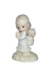 His Burden Is Light - Precious Moment Figurine