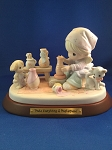 Make Everything A Masterpiece  - Precious Moment Figurine