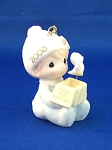 Baby's First Christmas 2005 (Boy) - Precious Moment Ornament