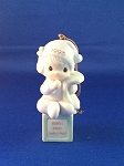 Baby's First Christmas 1998 (Girl) - Precious Moment Ornament